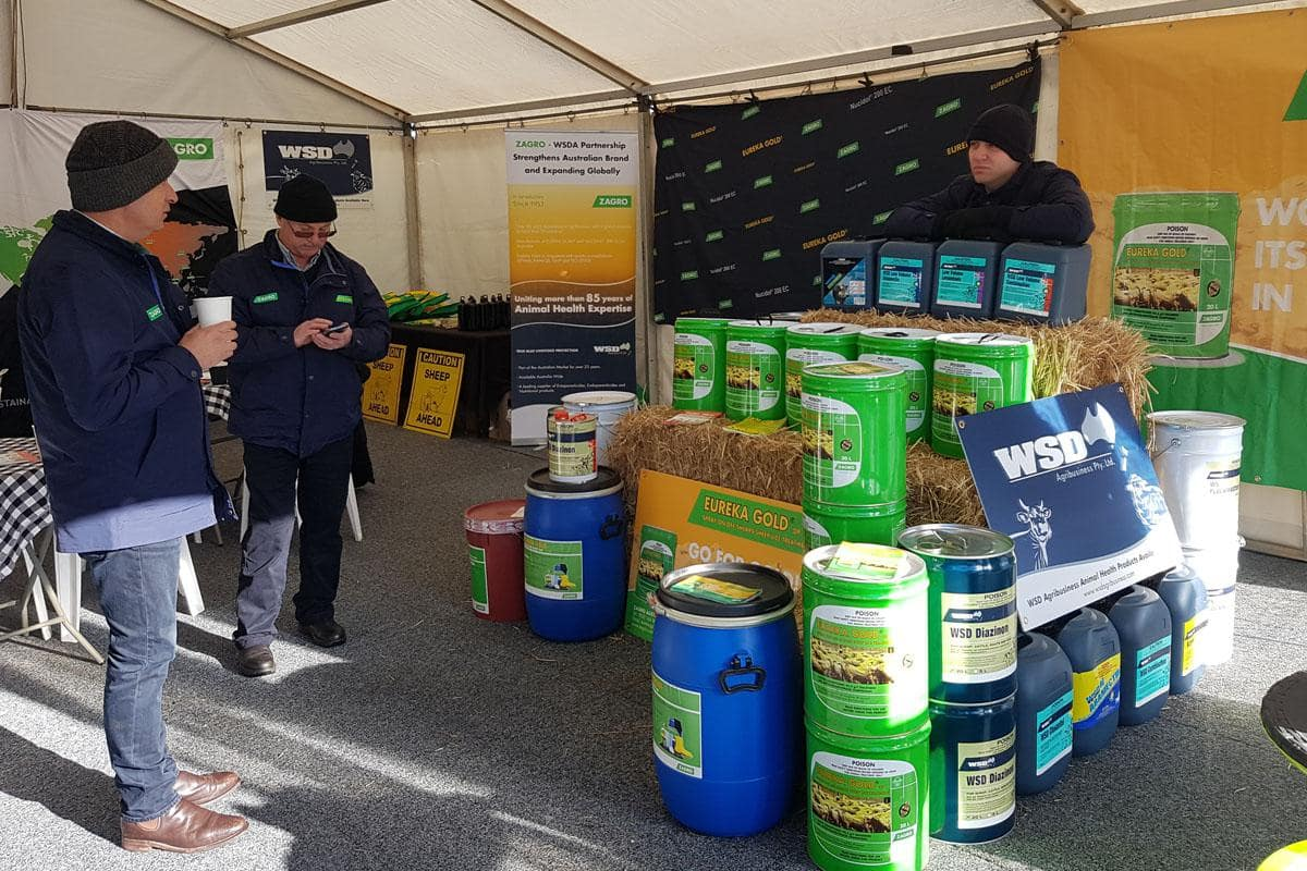 Eureka Gold® dislay at Sheepvention 2017
