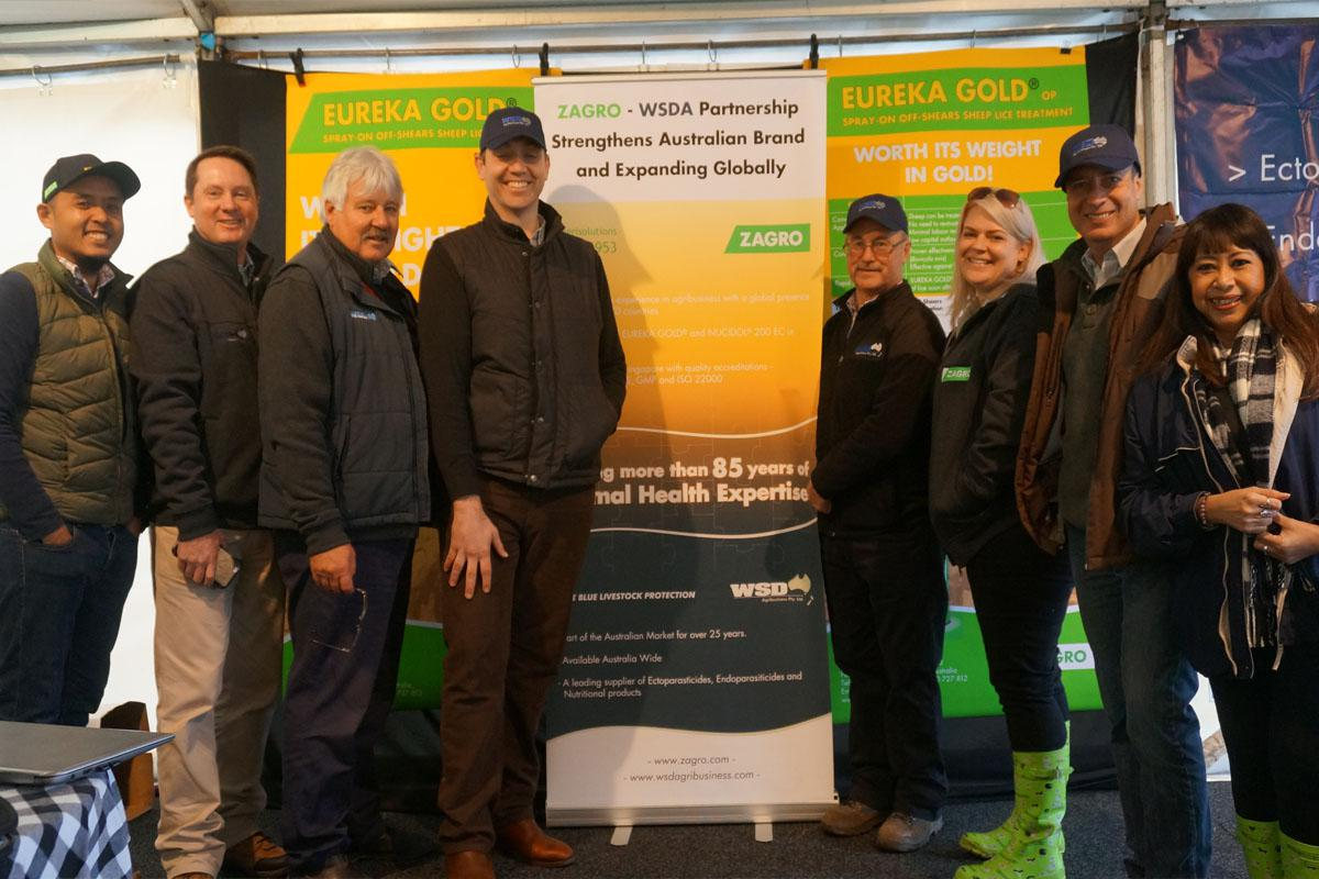 Zagro staff at Sheepvention 2016
